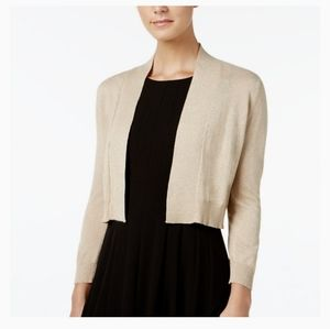 Calvin Klein Womens 3/4 Sleeve Shrug